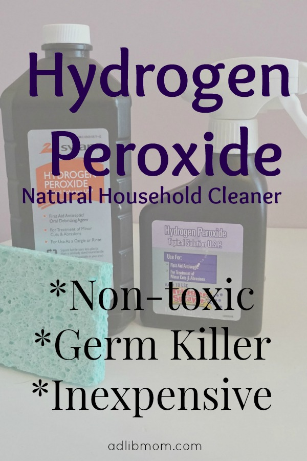 how to clean with hydrogen peroxide